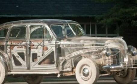 """In 1939, americanii construiau automobilul transparent. Cu cat se vinde acum """"Masina Fantoma"""". FOTO"""