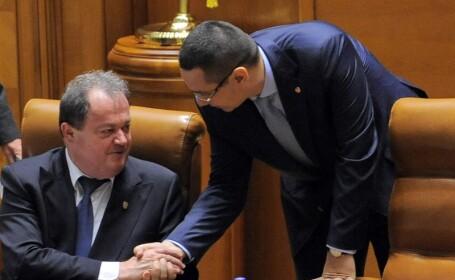 Vasile Blaga, Victor Ponta