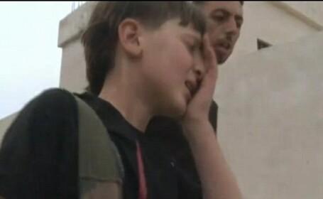 copil soldat in Siria