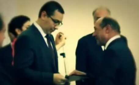 Traian Basescu, Victor Ponta - COVER