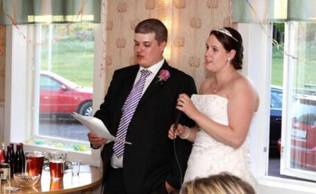 Nunta lor a fost evenimentul de la care iti pare rau ca ai lipsit. Ce au in fata lor mirii. FOTO