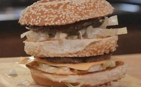 VIDEO. McDonald\'s isi dezvaluie secretele. Cum poti prepara un Big Mac chiar la tine acasa