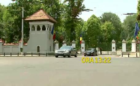 Prima zi la Cotroceni pentru Crin Antonescu. Ambasadorul american si Isarescu, primii musafiri