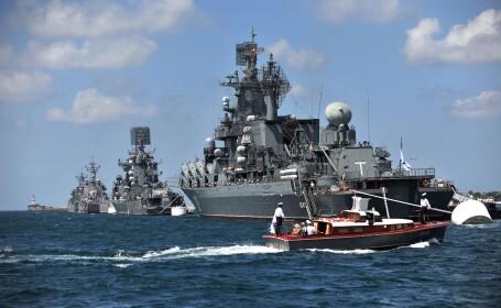 Rusia a facut manevre de lupta cu munitie reala in Marea Mediterana