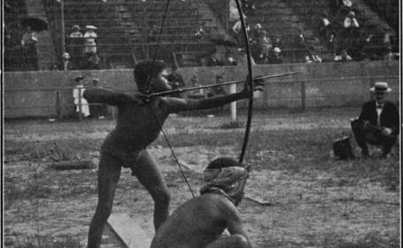 pigmei, 1904, Olimpiada Salbaticilor