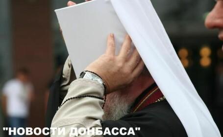Mitropolitul din Donetsk, fotografiat cu un ceas de colectie de 150.000 de euro la mana