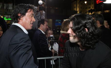 Sylvester Stallone si Sage Stallone