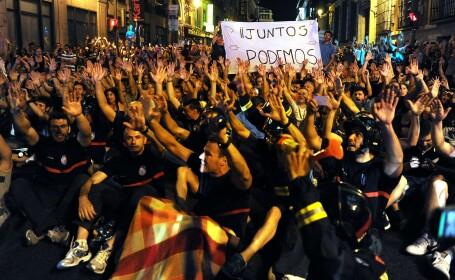 spania proteste