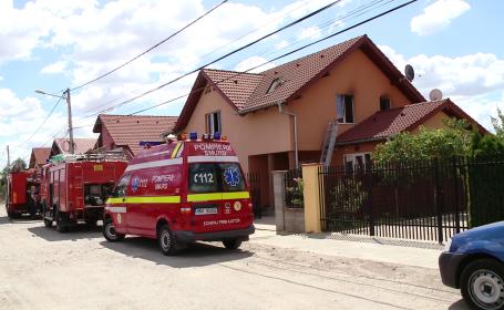 incendiu casa Giroc