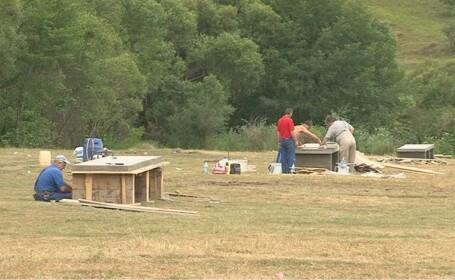Zeci de gratare pentru picnic sunt puse la dispozitia clujenilor pe Valea Garbaului