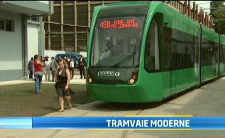Unul dintre cele mai moderne tramvaie de pe piata mondiala este produs acum si in Romania. VIDEO