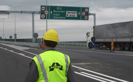 lucrari autostrada Arad Timisoara