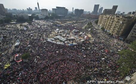 Un milion de oameni au fost chemati intr-un mars al sustinatorilor lui Morsi, in Cairo