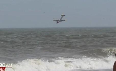 Era relaxata cu copilul la plaja, cand s-a intors spre ocean a ramas ingrozita de ce a vazut