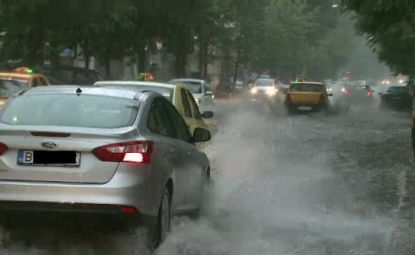 Strada inundata