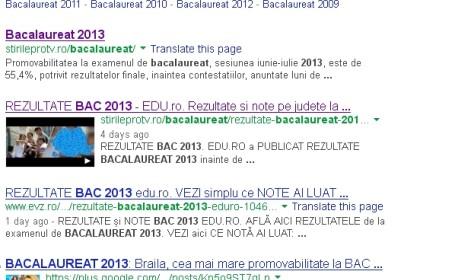 Bacalaureat 2013 online