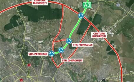 Bucuresti-Ploiesti, autostrada fara cap si fara coada. Cat dureaza finalizarea ultimilor 7 kilometri