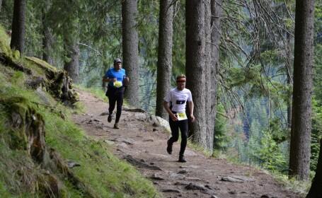 Concurs de alergare pe traseu montan la Sibiu