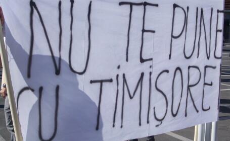 protest finante timisoara