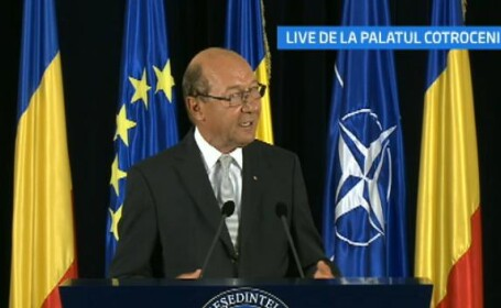 Traian Basescu, Cotroceni