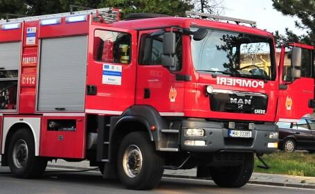 Incendiul de la Rin Grand Hotel din Capitala a fost stins. Pompierii au intervenit cu 3 autospeciale