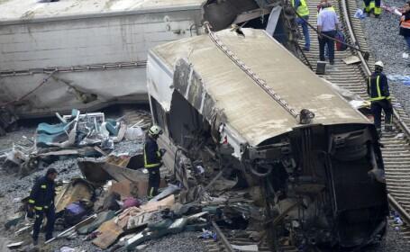 Corlatean: Nu sunt victime cetateni romani in accidentul feroviar din Spania