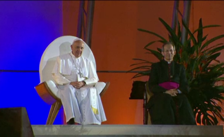 Papa Francisc, slujba in Brazilia