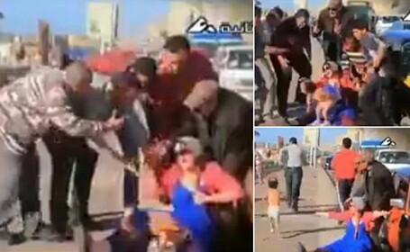 Un grup de barbati a sarit sa ajute o femeie care naste pe strada: de ce au luat-o imediat la fuga