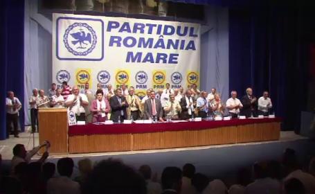 Congresul PRM l-a exclus din partid pe Vadim Tudor. \