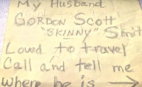 Sotia isi onoreaza sotul decedat. Face dupa moarte ceea ce i-a placut cel mai mult cand era in viata