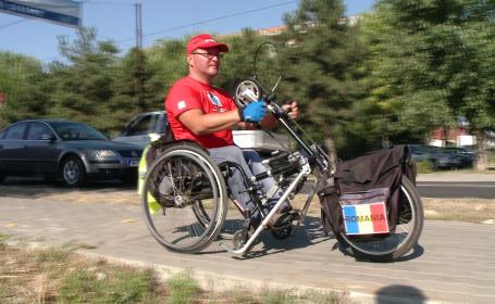 Vasile Stoica, lugojeanul in scaun cu rotile