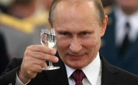 Vladimir Putin a cantat la acordeon pentru presedinta Argentinei. Liderul rus, in turneu de sase zile in America Latina