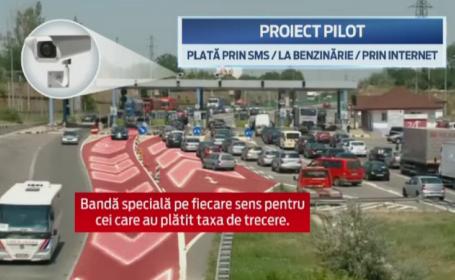 Soferii vor trece gratuit podul de la Fetesti doar in orele de varf. Un sistem de 100.000 de euro ne-ar putea scapa de cozi