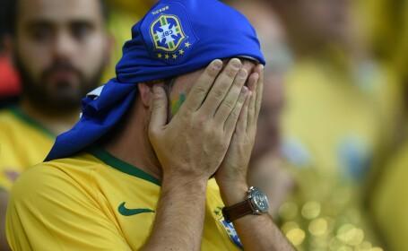 BRAZILIA - GERMANIA, 1-7. Nemtii se califica in finala CUPEI MONDIALE. \