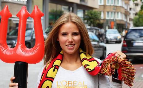 Ce i s-a intamplat unei tinere din Belgia dupa ce a mers la Campionatul Mondial. Acum o cunoaste o lume intreaga. FOTO