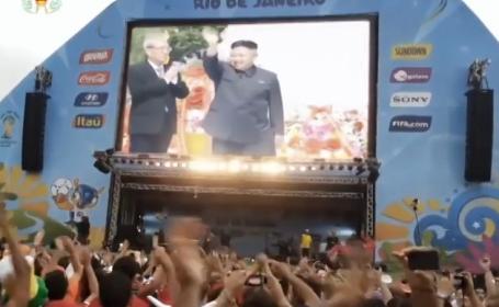 Imaginile care au pacalit presa internationala. Cum a ajuns Coreea de Nord sa anunte calificarea in finala la CM de fotbal