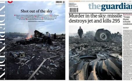 Catastrofa aviatica din Ucraina, in presa internationala. De la \