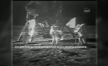 45 de ani de cand primii oameni au ajuns pe Luna. Aproape un sfert dintre americani cred insa ca NASA a falsificat misiunea