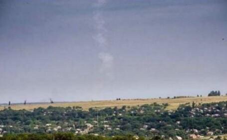 FOTO. Momentul in care ar fi fost lansata racheta care a doborat Boeing-ul 777. \