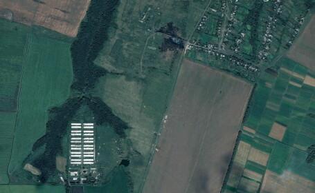 Primele imagini surprinse din satelit cu locul unde avionul Malaysia Airlines s-a prabusit. De ce au aparut abia acum
