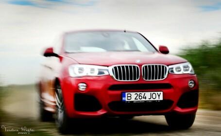 300 de cai sau masina care are totul. SUV-ul BMW care se crede limuzina. Test in RO. Galerie foto