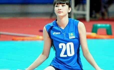 O voleibalista din Kazahstan a ajuns atat de populara in Asia incat colegele si antrenorul nu o mai vor in echipa