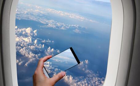 A reusit sa fotografieze momentul in care un fulger loveste solul, de la 10.000 de metri inaltime. FOTO