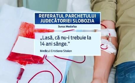 Cum ar fi instituit directoarea o selectie NENATURALA in Centrul de Transfuzii Slobozia. \