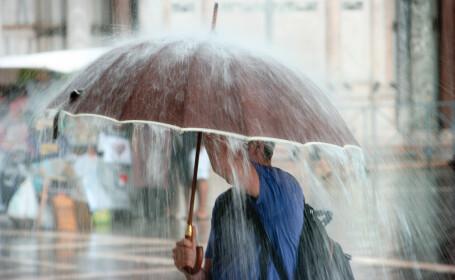 Temperaturi sub mediile acestei perioade in toata tara, de duminica revin ploile. Ce zone sunt afectate