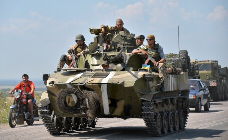 Criza in Ucraina. CNN: Armata a folosit RACHETE cu raza scurta de actiune impotriva rebelilor
