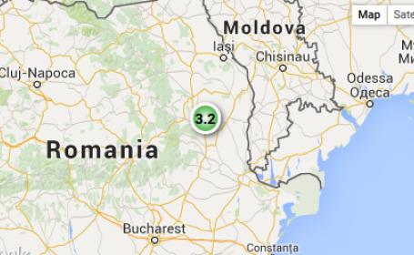 Cutremur de 3,2 grade pe Richter in judetul Vrancea, miercuri la ora 7:34