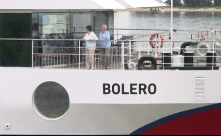 O croaziera pe Dunare s-a sfarsit tragic pentru un turist german de 76 de ani. Barbatului i s-a facut rau si a murit