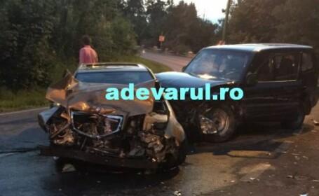 Accident grav in Poiana Brasov. Un soldat american, aflat in stare de ebrietate, a lovit frontal o alta masina