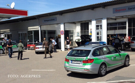 ataca armat Germania in Ansbach
